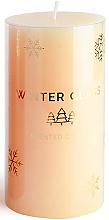 Parfumuri și produse cosmetice Lumânare parfumată, cream, 7x8cm - Artman Winter Glass