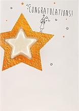 Parfumuri și produse cosmetice Bilă efervescentă - Bomb Cosmetics Congratulations Star Blastercard Bath Bomb Card Graduation Gift