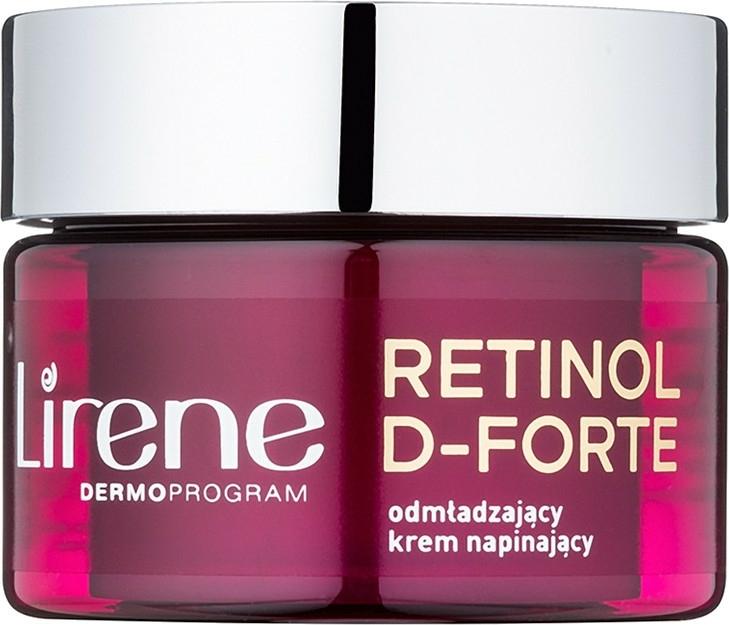 Cremă de zi pentru întinerirea tenului - Lirene Retinol D-Forte Rejuvenating Day Cream For Skin Tightening 60+ — Imagine N1