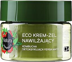 Parfumuri și produse cosmetice Crema-gel hidratantă zi/noapte pentru față - Lirene Natura Fermenty