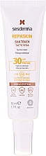 Parfumuri și produse cosmetice Cremă de protecție solară pentru față - SesDerma Laboratories Repaskin Silk Touch SPF30