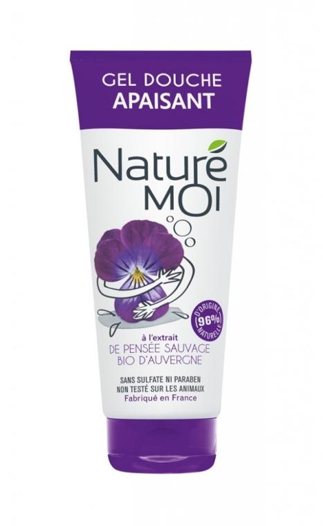 "Gel de duș ""Violete"" - Nature Moi Shower Gel"