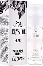 Parfumuri și produse cosmetice Crema de pleoape cu extract de perle naturale - Hristina Cosmetics SM Crystal Pearl Eye Cream