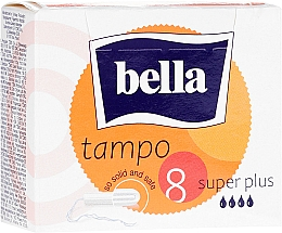 Parfumuri și produse cosmetice Tampoane Tampo Premium Comfort Super Plus, 8 bucăți - Bella