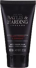 Set - Baylis & Harding Men's Black Pepper & Ginseng 4 Piece Box (hair/body/wash/100ml+a/sh/balm/100ml+face/wash/100ml+shawer/gel/50ml) — Imagine N4