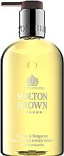 Parfumuri și produse cosmetice Molton Brown Orange & Bergamot Fine Liquid Hand Wash - Cremă de mâini cu flori de cireș și ulei de jojoba
