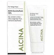 Parfumuri și produse cosmetice Fluid pentru față - Alcina Fm Aha Fluid