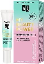 Parfumuri și produse cosmetice Ser- booster cu efect de netezire pentru față - AA My Beauty Power Niacinamide 10% Smoothing Serum-Booster