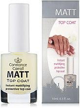 Parfumuri și produse cosmetice Acoperire de uscare pentru unghii - Constance Carroll Matt