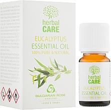 "Parfumuri și produse cosmetice Ulei esențial ""Eucalipt"" - Bulgarian Rose Eucalyptus Essential Oil"