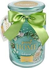 Parfumuri și produse cosmetice Lumânare parfumată, 10x16 cm, 700g - Artman Sweet Home Hibiscus
