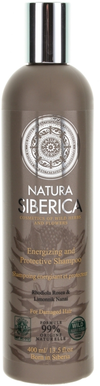 """Șampon pentru părul obosit și slăbit """"Protecție și energie"""" - Natura Siberica — Imagine N1"""