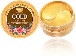 Parfumuri și produse cosmetice Patch-uri hidrogel cu aur și lăptișor de matcă - Petitfee & Koelf Gold & Royal Jelly Eye Patch