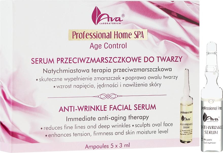 Ser pentru față - Ava Laboratorium Home SPA Anti-Wrinkle Facial Serum