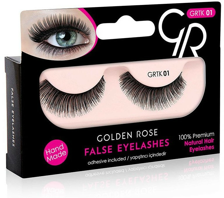 Extensii gene - Golden Rose False Eyelashes
