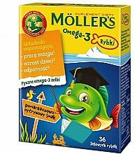 """Parfumuri și produse cosmetice Jellyfish cu aromă de portocală și lămâie """"Omega 3"""" - Mollers"""