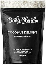 "Parfumuri și produse cosmetice Scrub pentru corp ""Cocos"" - Body Blendz Coconut Delight Scrub"