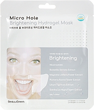 Parfumuri și produse cosmetice Mască pentru față - Beauugreen Microhole Clear Brightening Hydrogel Mask