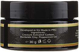 Praf pentru înălbirea dinților - Sanso Cosmetics Charcoal Activated Coconut Mint Powder — фото N3