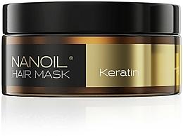 Parfumuri și produse cosmetice Mască pe bază de cheratină pentru păr - Nanoil Keratin Hair Mask