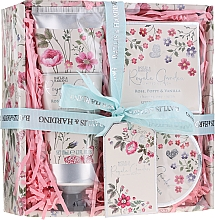 Parfumuri și produse cosmetice Set - Baylis & Harding Royale Garden Rose Poppy And Vanila (sh/cr/130ml + b/butter/100ml + soap/150g)