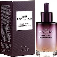 Parfumuri și produse cosmetice Ser facial - Missha Time Revolution Night Repair Night Repair Probio Ampoule Serum