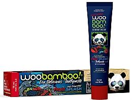 """Parfumuri și produse cosmetice Pastă de dinți """"Fruit Splash"""" cu fluor - Woobamboo Fruit Splash Toothpaste With Fluoride"""