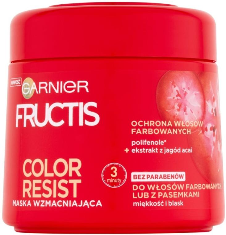 Mască nutritivă - Garnier Fructis Color Resist  — Imagine N1