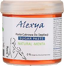 """Parfumuri și produse cosmetice Pastă pentru shugaring """"Mentă"""" - Alexya Sugar Paste Natural Menta"""