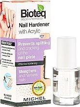 Parfumuri și produse cosmetice Întăritor pentru unghii - Bioteq Nail Hardener With Acrylic