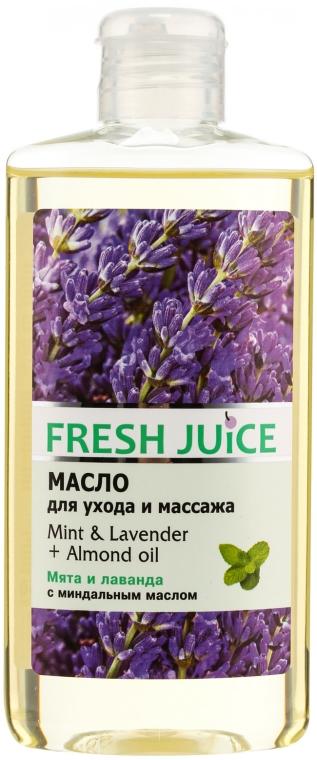 """Ulei de corp """"Mentă. Lavandă. Migdale"""" - Fresh Juice Energy Mint&Lavender+Almond Oil"""