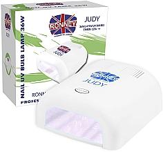 Parfumuri și produse cosmetice Lampă UV pentru unghii, albă - Ronney Professional Judy UV 36W (GY-UV-230) Lamp