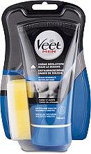 Parfumuri și produse cosmetice Cremă epilatoare pentru bărbați - Veet Men Silk & Fresh Hair Removal Cream