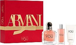 Parfumuri și produse cosmetice Giorgio Armani Emporio Armani In Love With You - Set (edp/50ml + edp/15ml + h/cr/50ml)