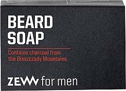 Parfumuri și produse cosmetice Săpun solid pentru barbă - Zew For Men Natural Beard Soap
