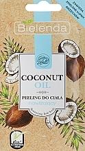 Parfumuri și produse cosmetice Peeling cu ulei de cocos pentru corp - Bielenda Coconut Oil Moisturizing Peeling