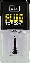 Parfumuri și produse cosmetice Lac de unghii transparent - Wibo Fluo Top Coat