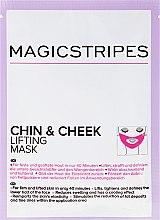 Parfumuri și produse cosmetice Mască cu efect de lifting pentru bărbie și obraji - Magicstripes Chin & Cheek Lifting Mask