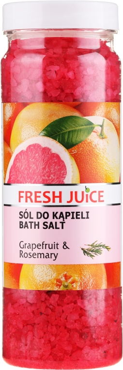 Sare de baie - Fresh Juice Grapefruit and Rosemary