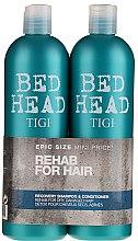 Parfumuri și produse cosmetice Set - Tigi Bed Head Recovery Shampoo&Conditioner (sh/750ml + cond/750ml)