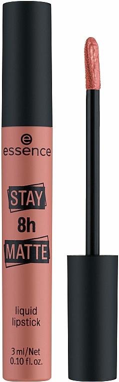 Ruj lichid de buze - Essence Stay 8H Matte Liquid Lipstick