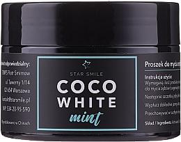 Parfumuri și produse cosmetice Praf de dinți - Star Smile CoCo White Mint