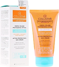 Parfumuri și produse cosmetice Cremă pentru bronz - Collistar Active Protection Sun Cream SPF30 150ml