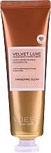 Parfumuri și produse cosmetice Cremă cu ulei de măsline și avocado pentru mâini și corp - Voesh Velvet Luxe Tangerine Glow Vegan Body&Hand Creme