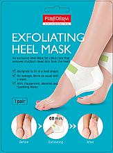 Parfumuri și produse cosmetice Mască-peeling pentru călcâie - Purederm Exfolaiting Heel Mask