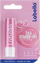 Parfumuri și produse cosmetice Balsam de buze - Labello Lip Care Soft Rose Lip Balm