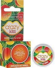 "Parfumuri și produse cosmetice Peeling pentru buze ""Mango"" - Bielenda Crazy Kiss Mango Sugar Lip Scrub"