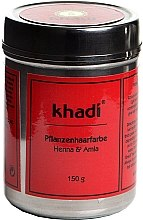 "Parfumuri și produse cosmetice Vopsea organică de păr ""Henna și Amla"" - Khadi Herbal Hair Colour Henna & Amla"