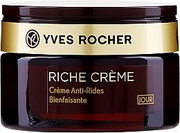 Parfumuri și produse cosmetice Cremă antirid de zi - Yves Rocher Riche Creme Day Cream