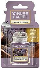 Parfumuri și produse cosmetice Aromatizor auto - Yankee Candle Car Jar Ultimate Dried Lavender & Oak